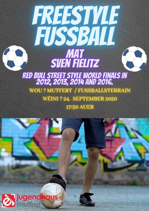 Séance de Foot Freestyle à Moutfort – 24.09